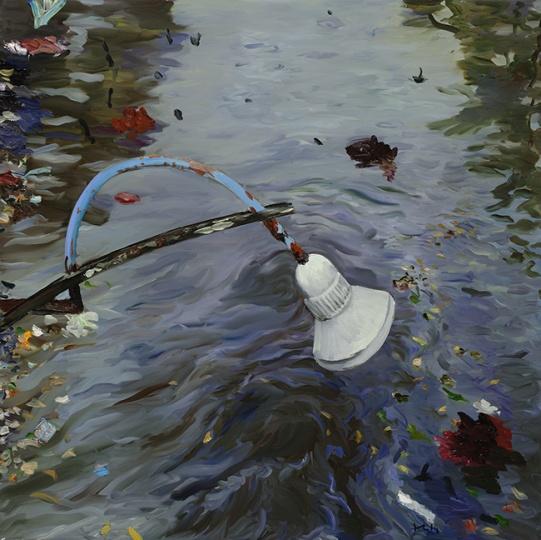 《记忆树之三》200x200cm 布面油画 2014