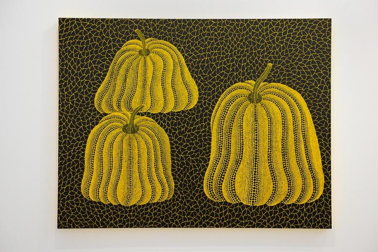 成立于1994年的大田画廊,作为此次参展画廊里唯一一家来自日本本土画廊。占据入口处绝佳位置的A1展位,此次带来的艺术家包括草间弥生、70后艺术家竹川宣彰、鹤田谦二、李受径与Masanori Handa。