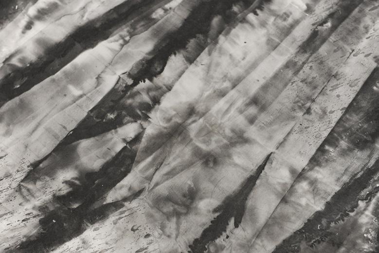 """在各种新媒体材料聚集的国际艺博会,墨斋画廊的""""墨气""""就极为特殊,也力量强大。冰逸的作品《万物》(2200×260cm×2/6P)在展厅入口极为壮观。这件作品与展厅内部冰逸的《百妖图》在形式、体量和气质上差距很大,但交相辉映。"""