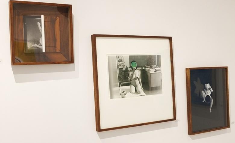 """摄影对蔡东东来说是充满错觉和欺骗性的,但因为照片中所摄取的物体的质感而产生的真实性值得怀疑,在这个读图的时代,蔡东东对照片的""""打磨""""实则是在对图像的破坏和干预中提示出图像和真相之间的误差和距离。"""