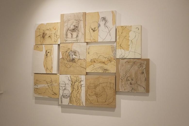加拿大籍艺术家米歇尔·马多,为作家贝克特创作的著作绘制封面作品而为大家所认识。这组难得一见的原作,不知最终花落谁家?
