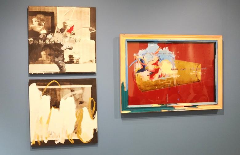 """张文伟画面中的""""清晰可辨""""相比,吴笛的绘画中则充满了""""迷题""""。图像在被消解的过程中,制造了无数的障碍,同时也构成了作品的表象。据悉,吴笛的价格平均在5至6万。"""