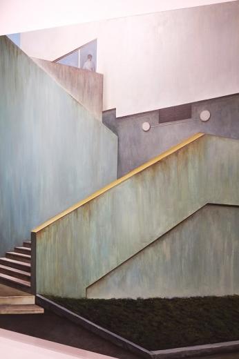 张英楠 《第三次相约》  200 x 150cm 布面油画  2015