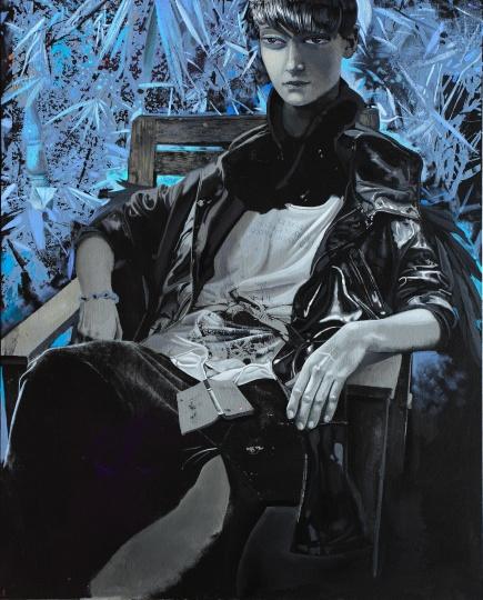 《阅读课》120×150cm 布面油画 2015