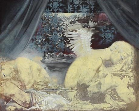 《禁锢之地》 120×150cm 布面油画 2015