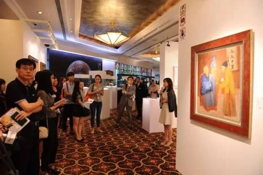 中国嘉德香港2015秋拍现场 媒体导览时间
