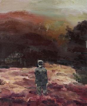 """此次嘉德香港""""中国二十世纪及当代艺术""""板块的封面作品仇小飞 《我在盛夏的河流中迷失了自己》"""