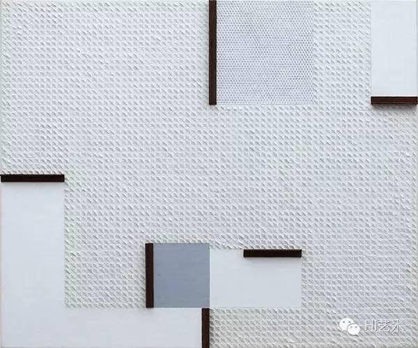 庄普 《白蛇的死亡》 72.5×60.5cm 画布、铝制品 2015