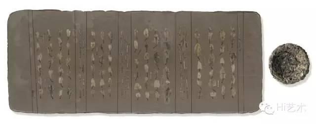 姜吉安 《陋室茶事-No.2》 33×81cm 现成品绘画 2015