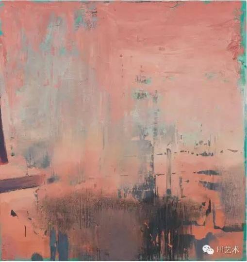 冯良鸿 《红12-1》 200×190cm 布面油画 2013