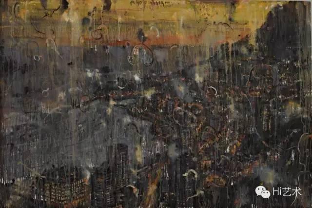赵峥嵘 《黄昏,在我透明的忧伤里》 150×100cm 布面油画 2014