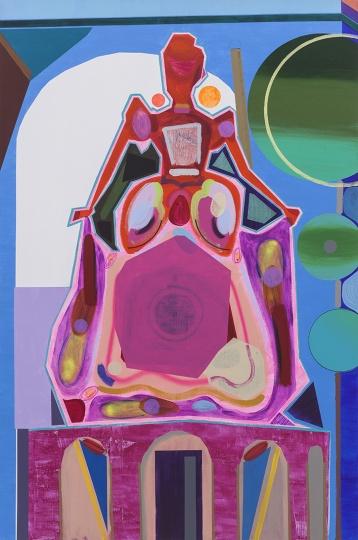 《公主》 300×200cm 布面丙烯 2015