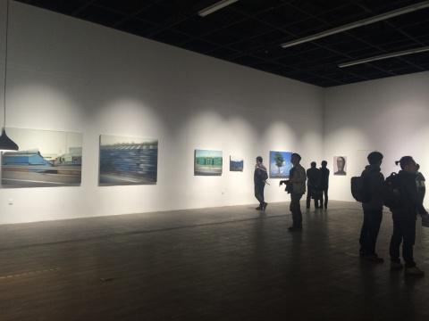 """范又榕个展""""质感的独白""""在798芳草地画廊开幕"""