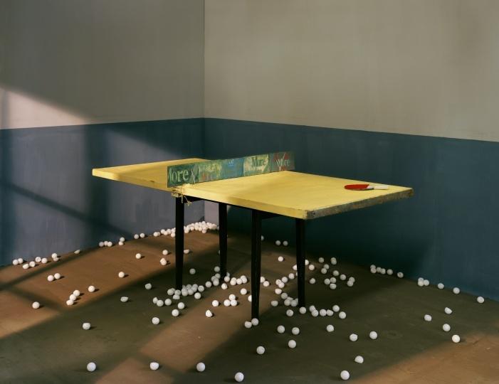 陈维《乒乓》150x200 收藏级喷墨打印 2011