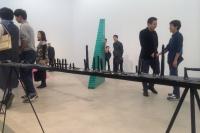 雕塑的平行空间 娜布其个展C-Space开幕,娜布其