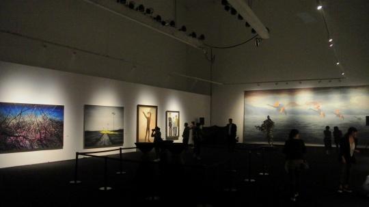 今日美术馆二层展厅