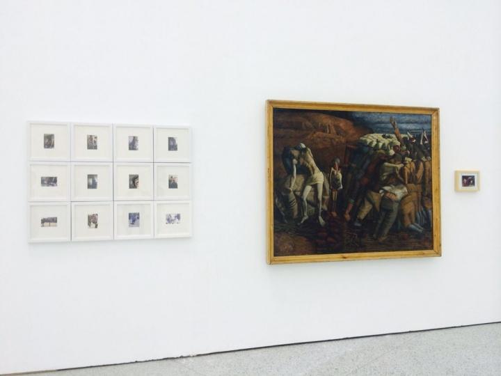王兴伟呈现了他1991年的作品《高粱地》的来龙去脉