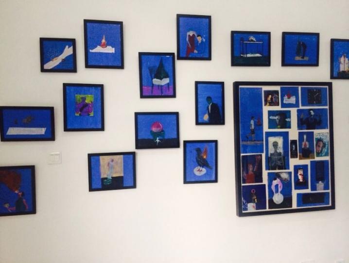 在这些展览中,可以看到一些很真诚的画作