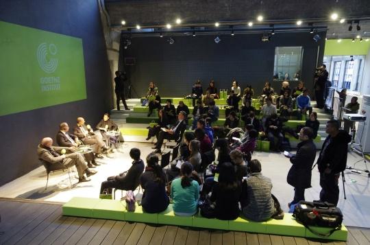 新空间开幕媒体见面会在歌德学院举行