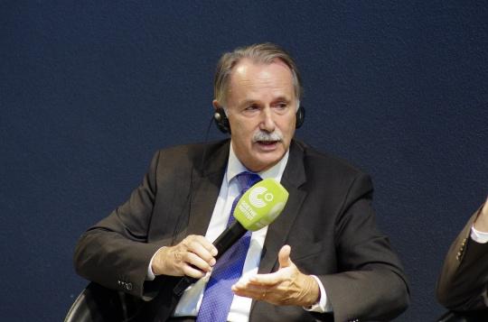 德国歌德学院主席克劳斯-迪特·雷曼(Klaus-Dieter Lehmann)教授