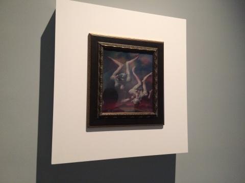 """变形、神怪、荒原,这些要素集中在第一幅面对观众的画作中,成为夏小万个人的""""肖像"""""""