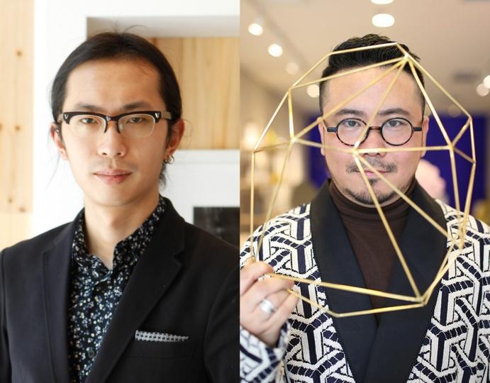 左:尤伦斯当代艺术中心(UCCA)副馆长 尤洋  右:资深媒体创意人/艺术北京品牌总监 李孟夏