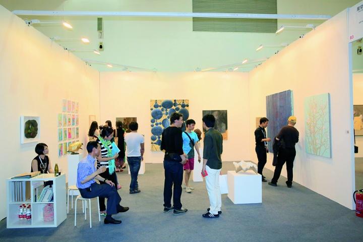 2015艺术北京参展画廊星空间 展位现场
