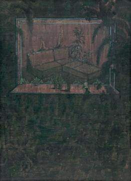 Lot911 王亚彬 《意外的芬芳》 150×110cm 布面综合材料 2012 估价: 20-28万