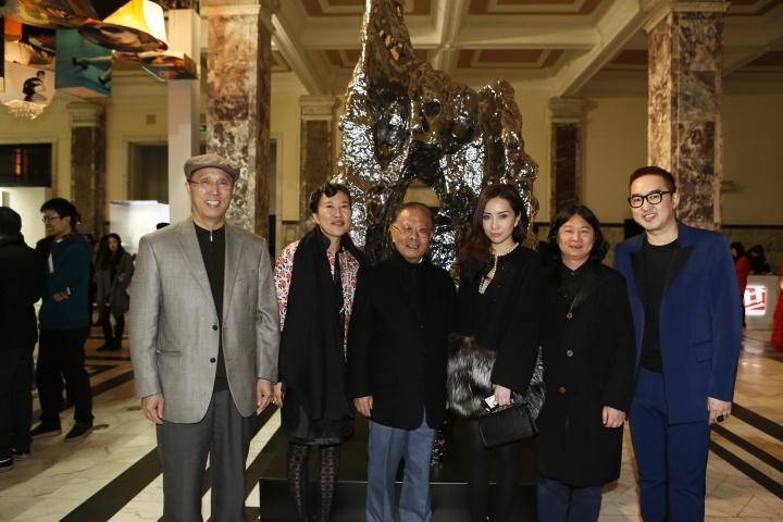 2013年ART021团队与嘉宾合影
