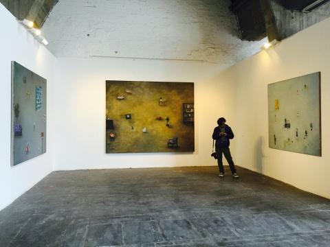 中国艺术家曾浩的三件作品
