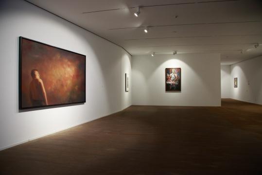 尹朝阳 《迷之一》 180×280cm 布面油画 2005