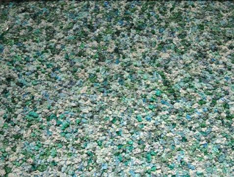 徐震 《天下-3611MQ0197》 130×160×10cm 布面油画,铝 2013