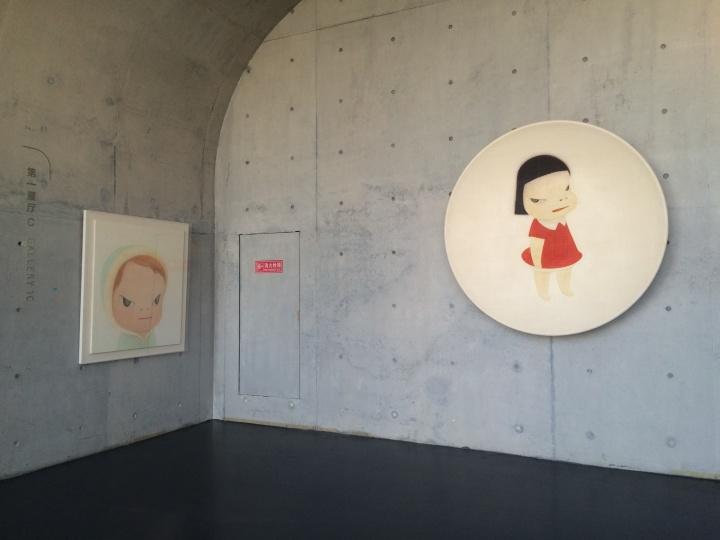 第四部分是波普艺术。其中包括中国的政治波普和以奈良美智为代表的日本卡通形象。