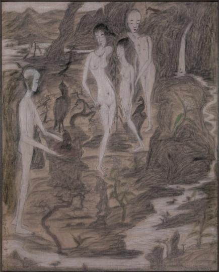 于彭 《桂荫芦》 128 × 161cm 布面油彩