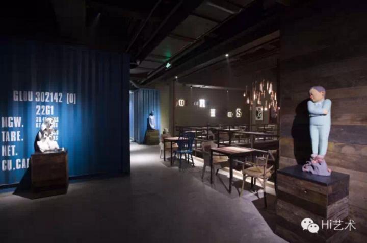 田军设计的上海他她咖啡馆