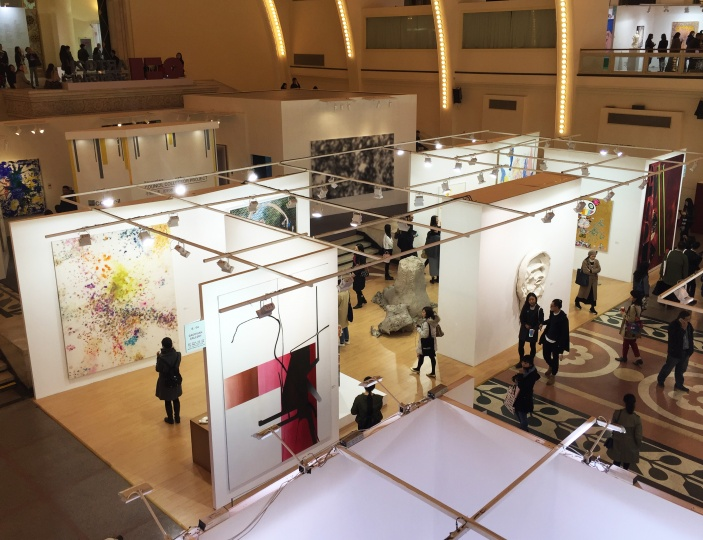 阔别国内艺博会十年的高古轩,此次带来的艺术家作品都十分的有诚意