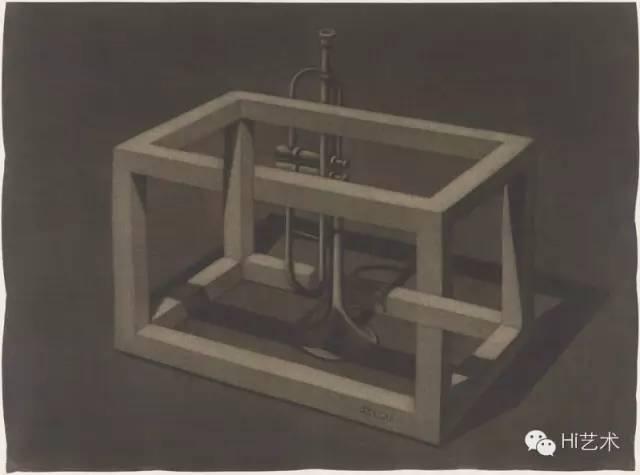 姜吉安 《2½ No.2》 58.8x43.8cm 绢本绘画 2015