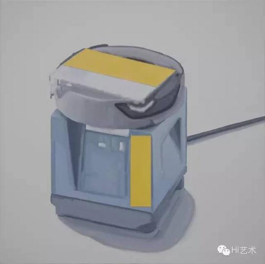 汪建伟 《另一个 No.7》布面丙烯、油画 50 x 50 cm 2015