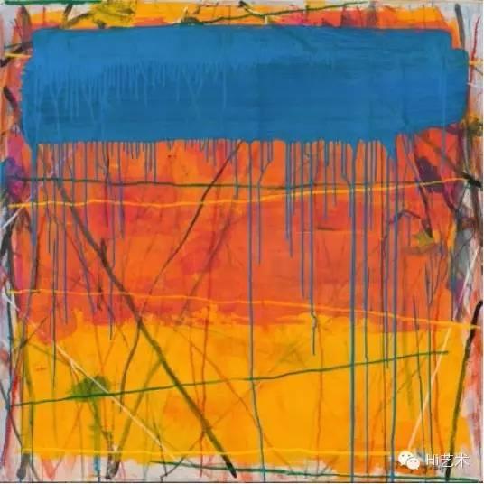 谭平 《向罗斯科致敬》 120 × 120 cm 布面丙烯 2015