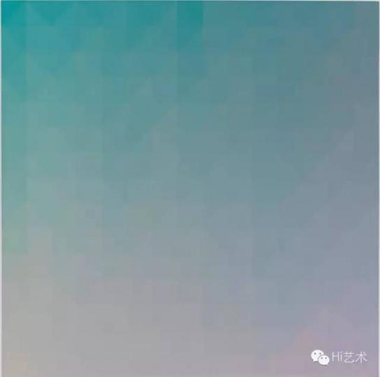 张雪瑞 《225 × 2 201410》 150 × 150 cm 布面丙烯 2014