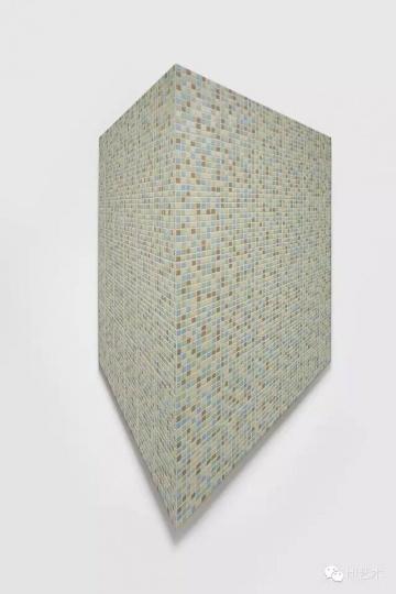 蔡磊 《6.3 ㎡》210×105cm 布面丙烯 2015