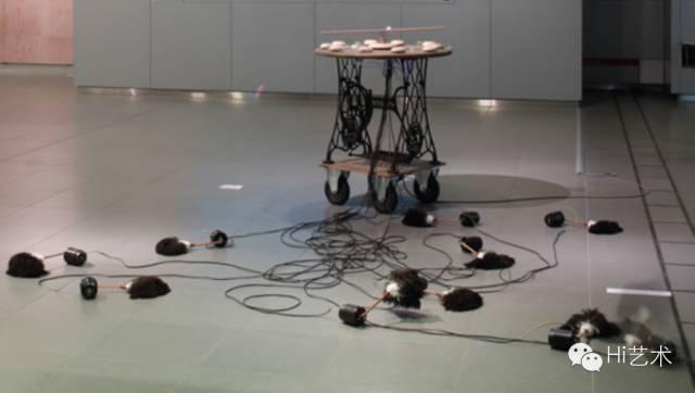 鲍栋策划的日本艺术家毛利悠子项目《魔法机》
