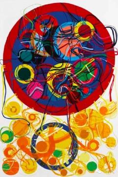贾蔼力《弃之荒野》 290x400cm 布面油画 2007 估价:700-900万港元