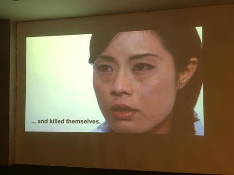 Chikako Yamashiro 《我为你发声》 作品现场