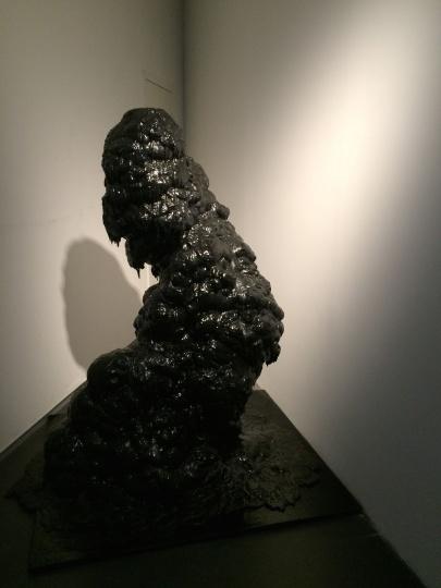 隋建国《盘旋》 高168cm 聚氨酯 2015