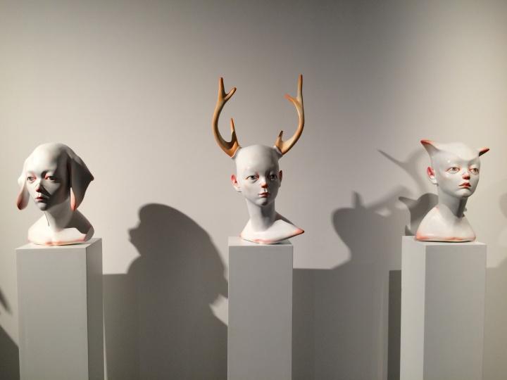 侯文静《面具》系列