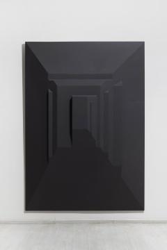 蔡磊 《模棱》150×250cm 布面丙烯 2015