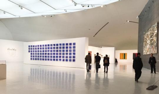中央美术学院美术馆三层展厅现场