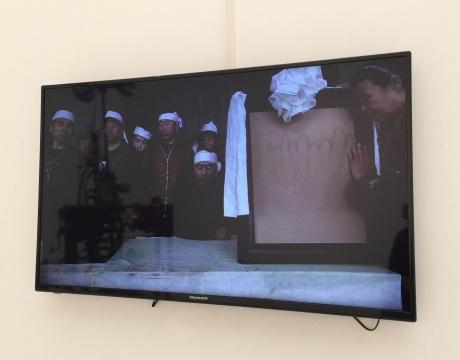 于瀛 《未完成的村庄》 单通道数字录像(彩色,无声) 5'57