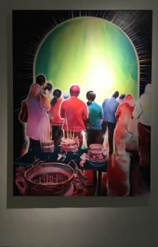 崔新明 《荣光-2015.07》 150×200cm  布面油画  2015